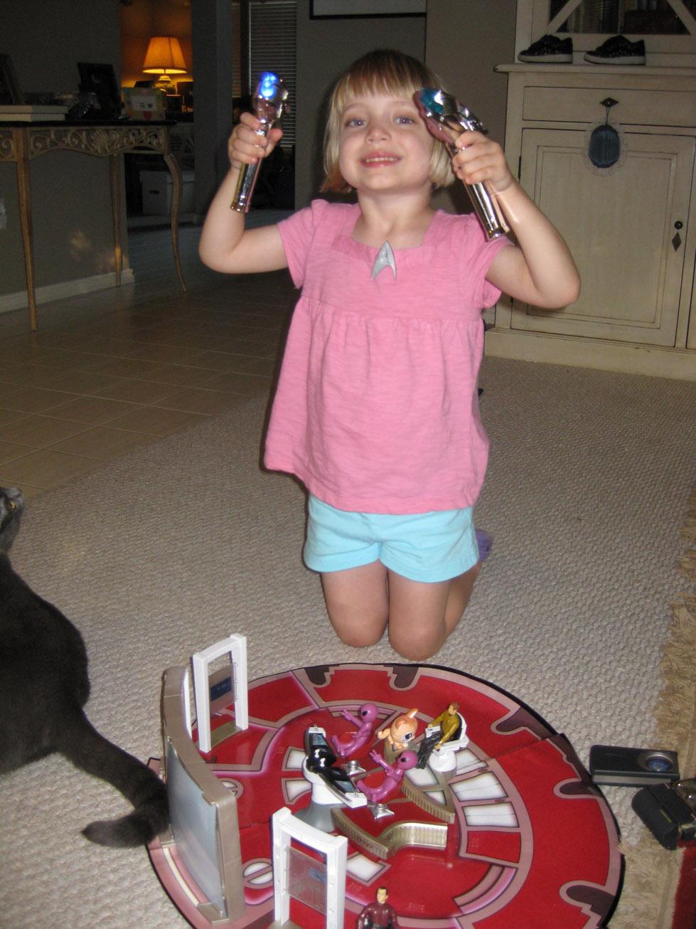 Star Trek 2009 Toys Buying Her Star Trek Toys