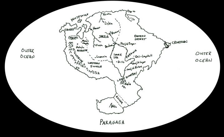 Pangea Ultima Map